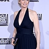 Jane Lynch attended the Fox party.