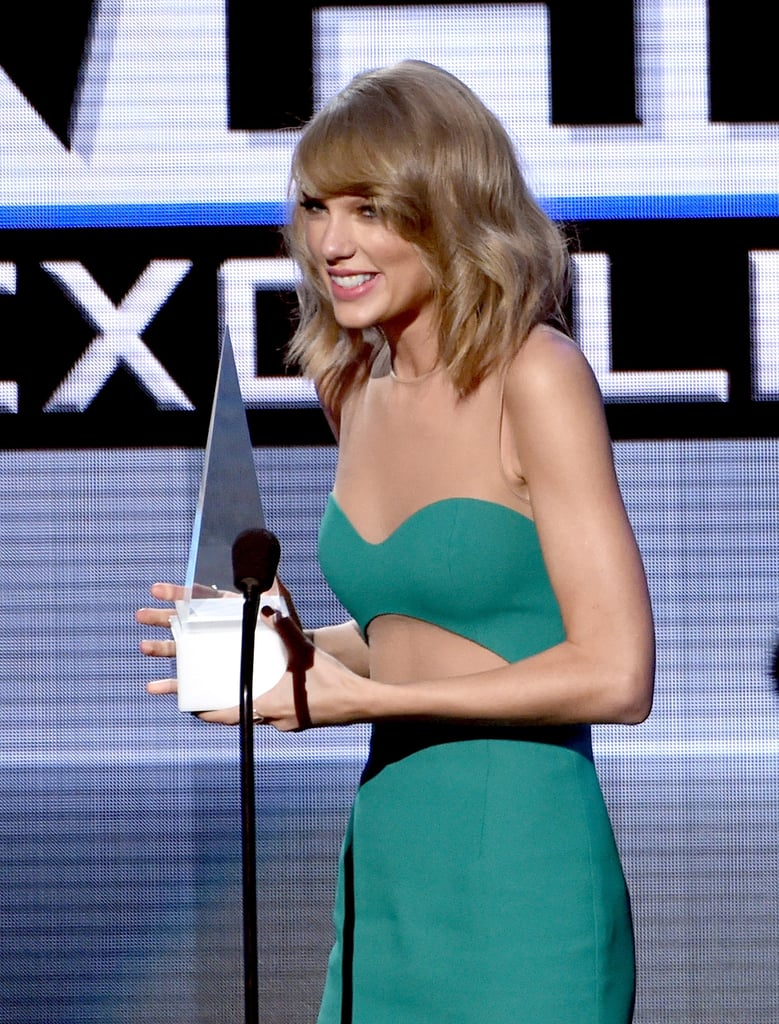 Taylor swift at the american music awards 2014 photos popsugar taylor swift opened the american music awards in la on sunday night with her hit song sciox Gallery