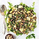 Lentil Salad With Roasted Cauliflower and Mushrooms