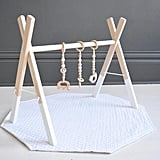 Natural Wood Play Gym