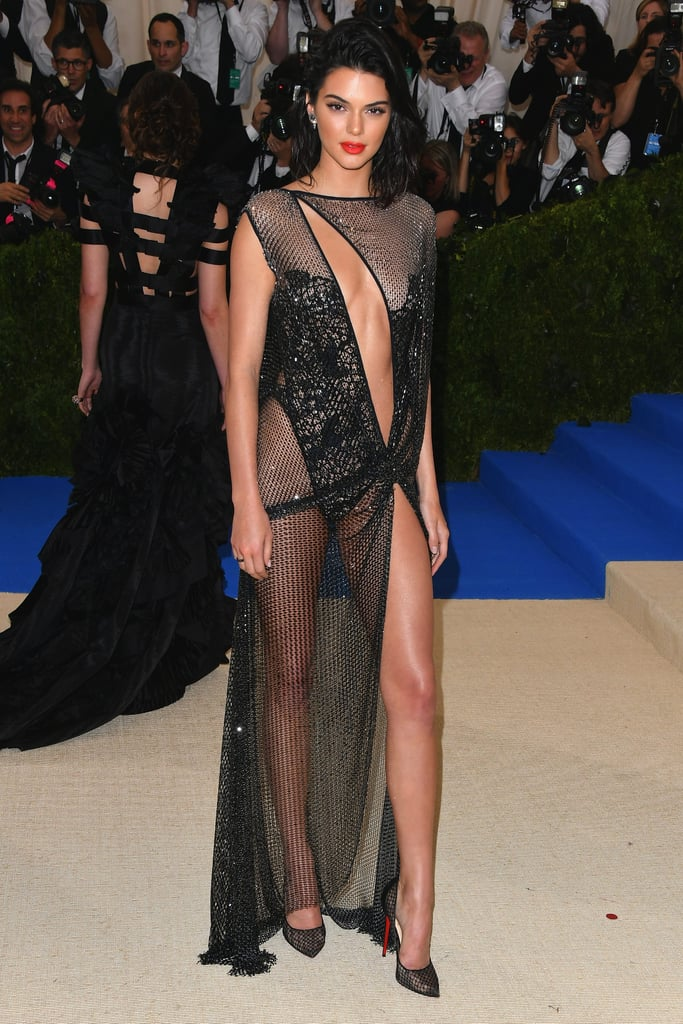Kendall Jenner in La Perla Dress at Met Gala 2017