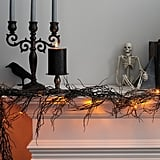 Hyde and Eek! Boutique Black String Lights With LED Bulbs
