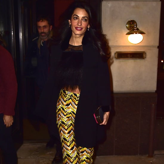 Amal Clooney '70s Style Pictures