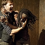 Michonne exacts her graphic revenge on the Governor.
