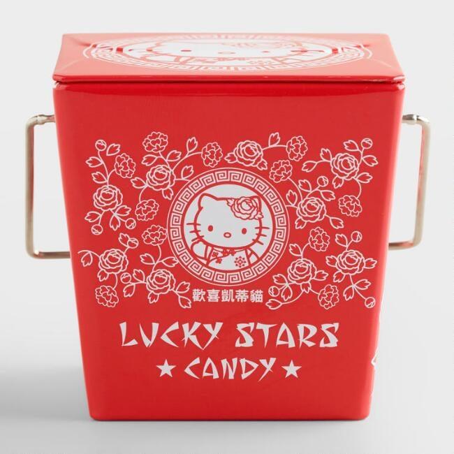 Hello Kitty Lucky Stars Candy Tin