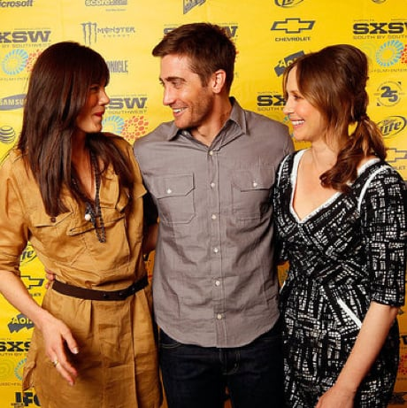 Pictures of Jake Gyllenhaal and Vera Farmiga at the SXSW Premiere of Source Code 2011-03-14 02:30:00
