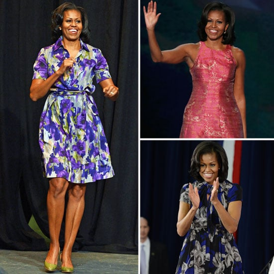 See Michelle Obama's Best 2012 Election Campaign Looks