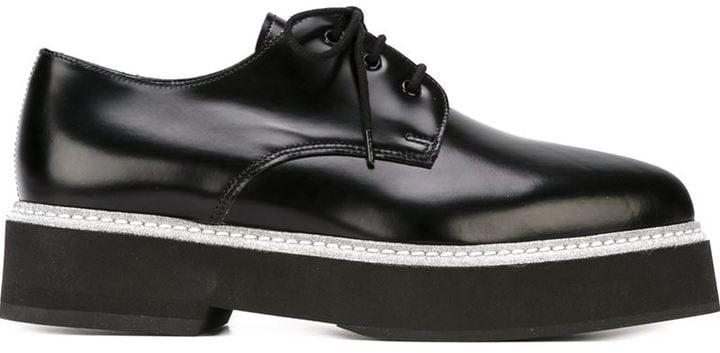 Alexander McQueen platform lace-up shoes ($745)