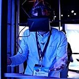 Try a futuristic gadget