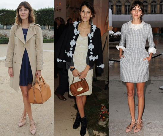 Photos of Alexa Chung at Spring 2011 Fashion Weeks in New York, London and Paris