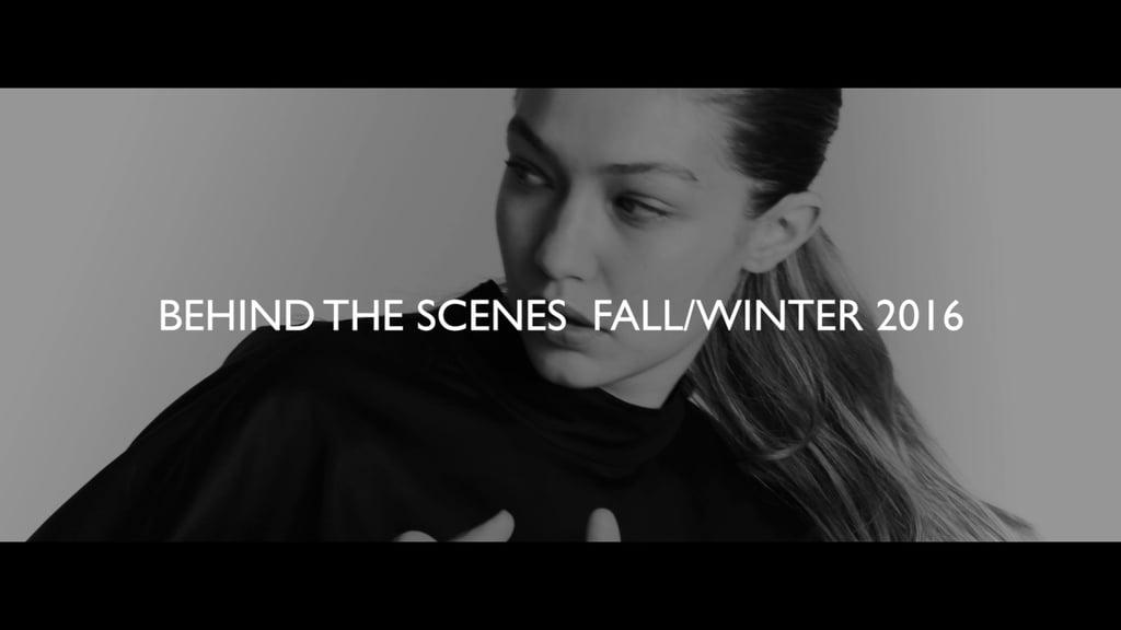Gigi Hadid's Stuart Weitzman Fall 2016 Campaign