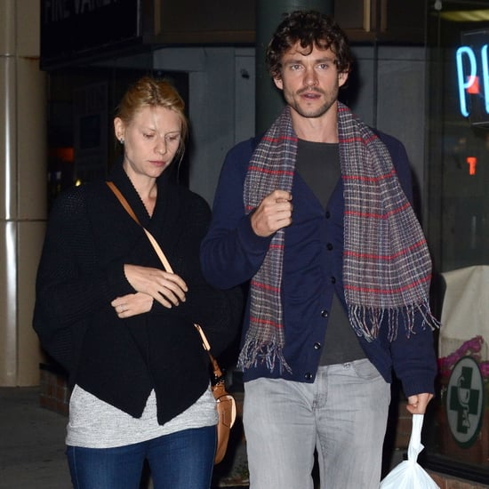 Pregnant Claire Danes in Toronto With Her Husband