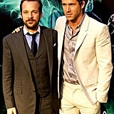 Ryan Reynolds and Peter Sarsgaard suited up for their debut.