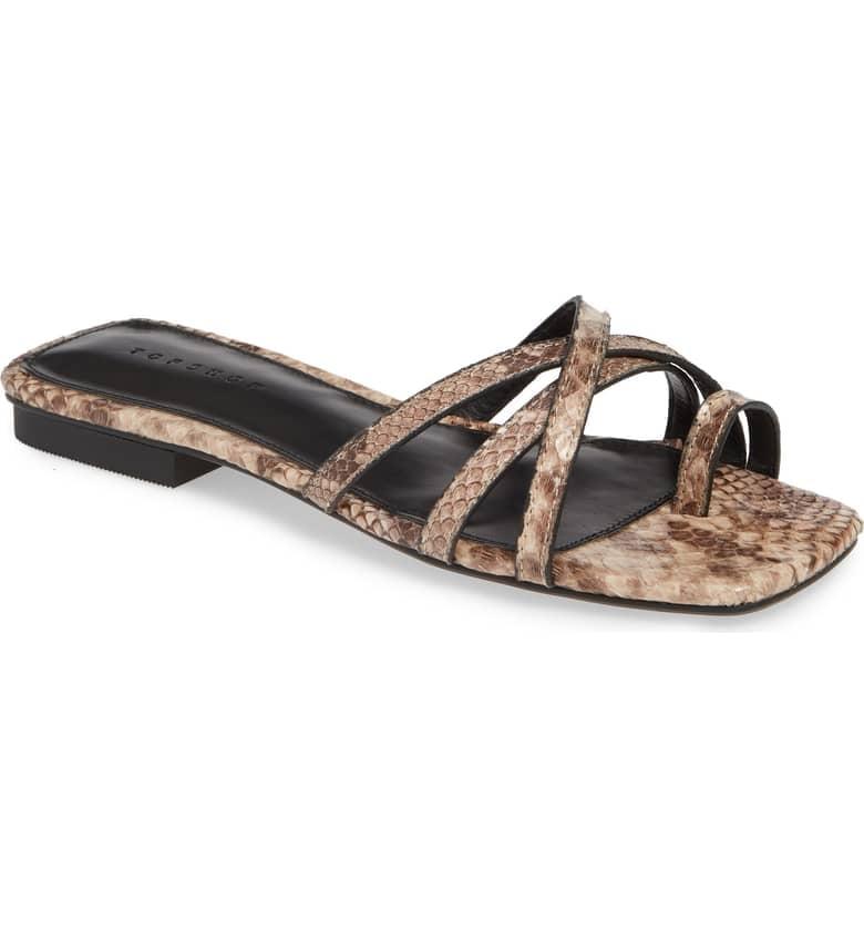 e157e7c6c Topshop Hippie Square Slide Sandal