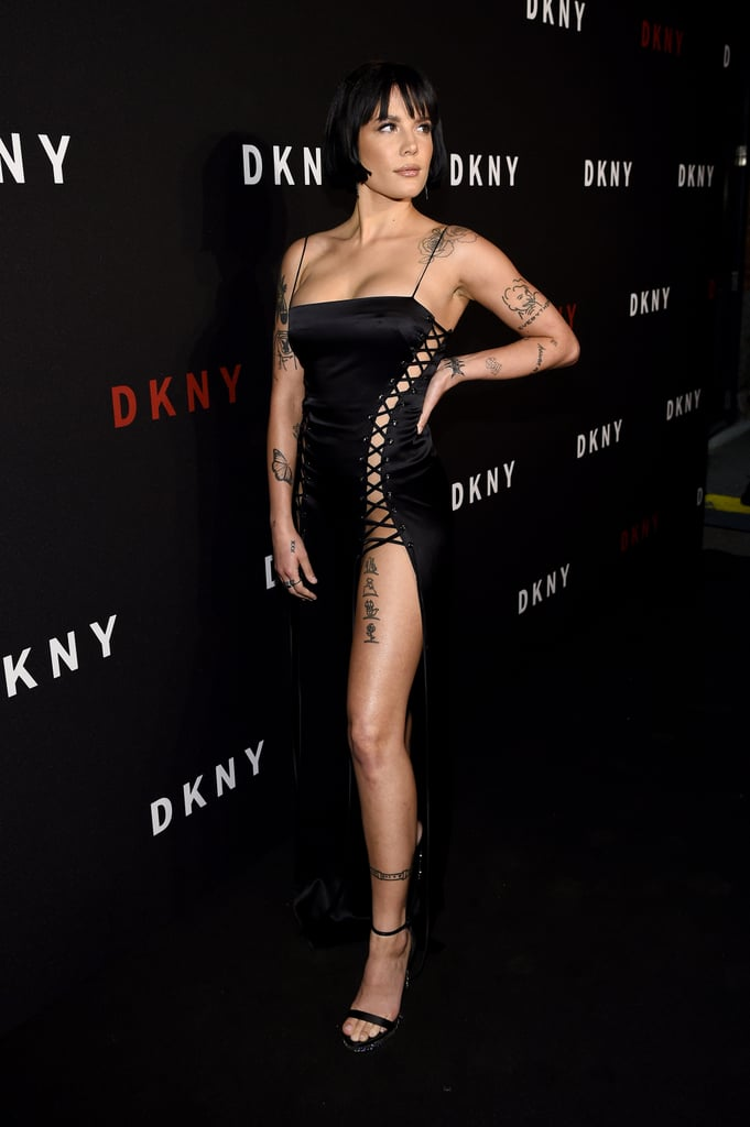 Halsey at the DKNY Party During New York Fashion Week