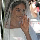 مايو: حظيت ميغان بحفل زفاف خرافيّ من الأمير هاري في كنيسة سانت جورج داخل قلعة وندسور.
