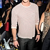 Liam Hemsworth stopped by a party in Cannes.