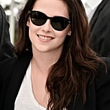 Kristen Stewart rocked sunglasses at the On the Road photocall at the Cannes Film Festival.