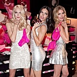 Lindsay Ellingson, Adriana Lima, and Doutzen Kroes attended a Victoria's Secret event.