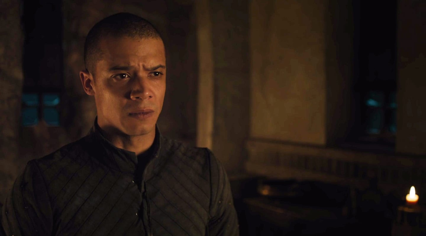 Game of Thrones character Grey Worm.