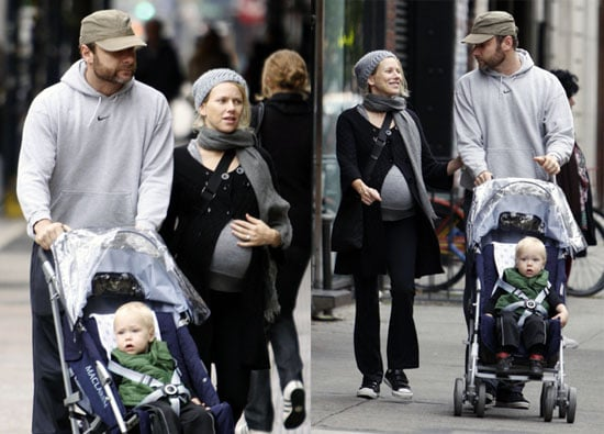 Naomi and Liev Need a Stroller Built For Two
