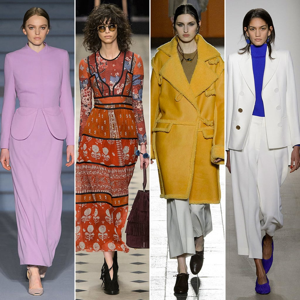 Top Fashion Trends at London Fashion Week Autumn/Winter 2015