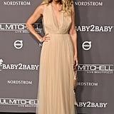 Lauren Conrad Nude Sandals Baby2Baby Gala 2018