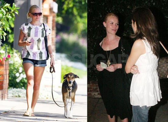 Kate Bosworth Makes Her Head Easy to Find