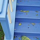 Contrasting Paint on the Stairs
