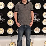 Nick Swardson kept it casual on the red carpet with a baseball cap and jeans.