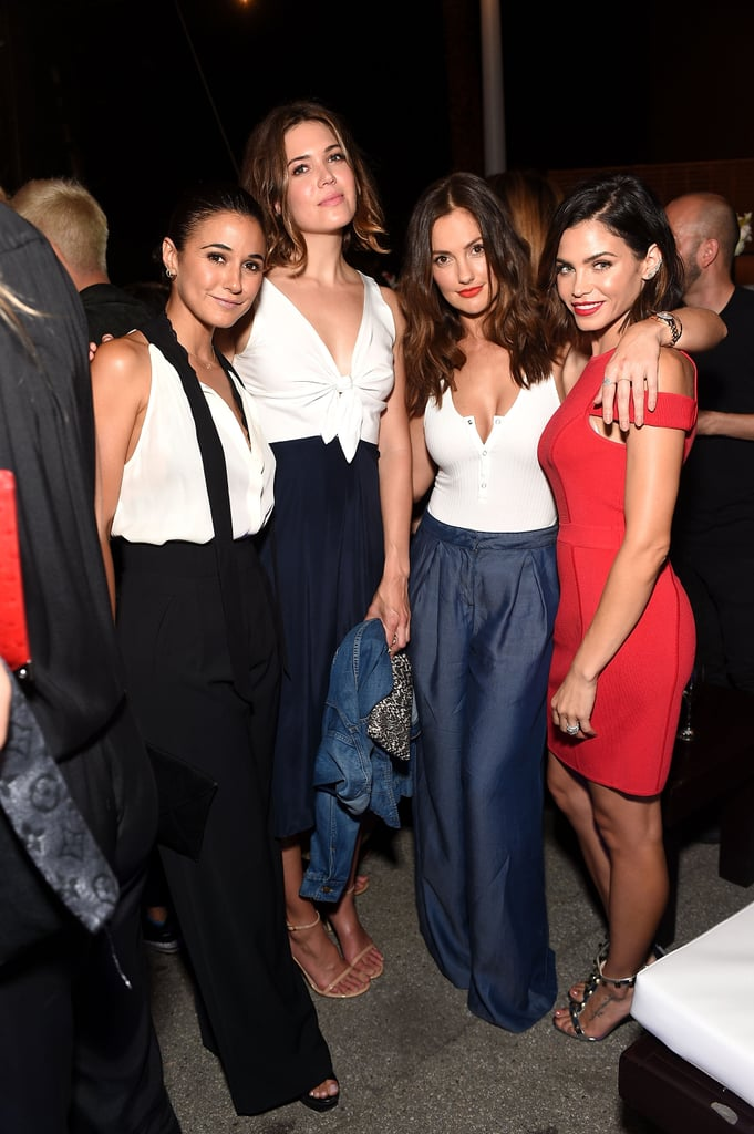 Emmanuelle Chriqui, Mandy Moore, Minka Kelly, and Jenna Dewan Tatum