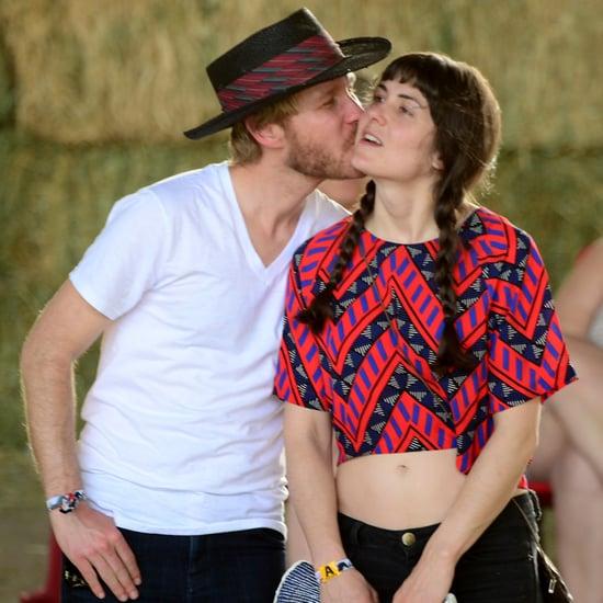 Cute Couples at Summer Music Festivals
