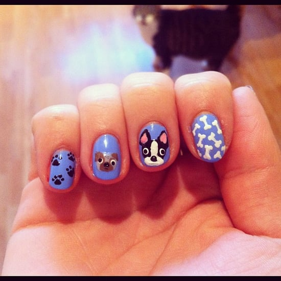 Dog Nail Art Designs