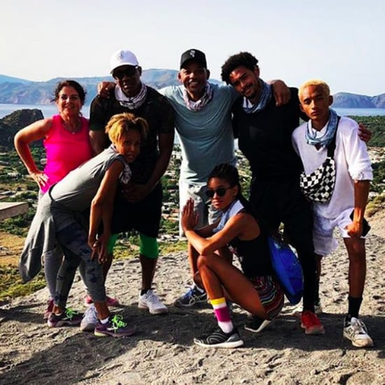 Will and Jada Pinkett Smith Vacation Pictures July 2018