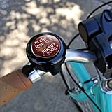 Harry Potter My Other Ride Is a Nimbus Bicycle Handlebar Bike Bell