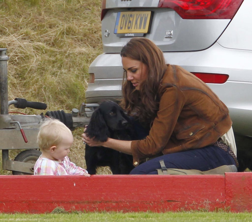 Prince William Has the Support of Kate Middleton and Lupo at the Polo