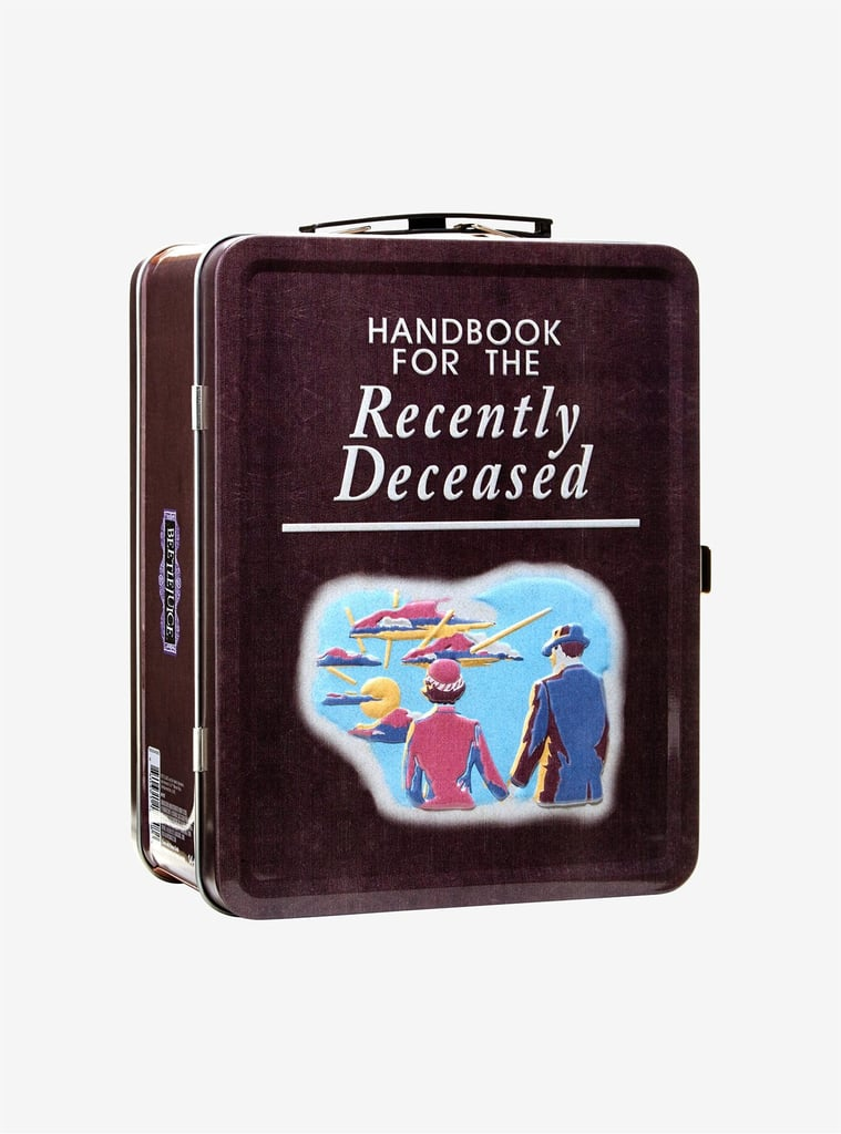 Handbook For the Recently Deceased Metal Lunchbox
