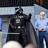 Eleven-year-old George Lucas was at the park on opening day.