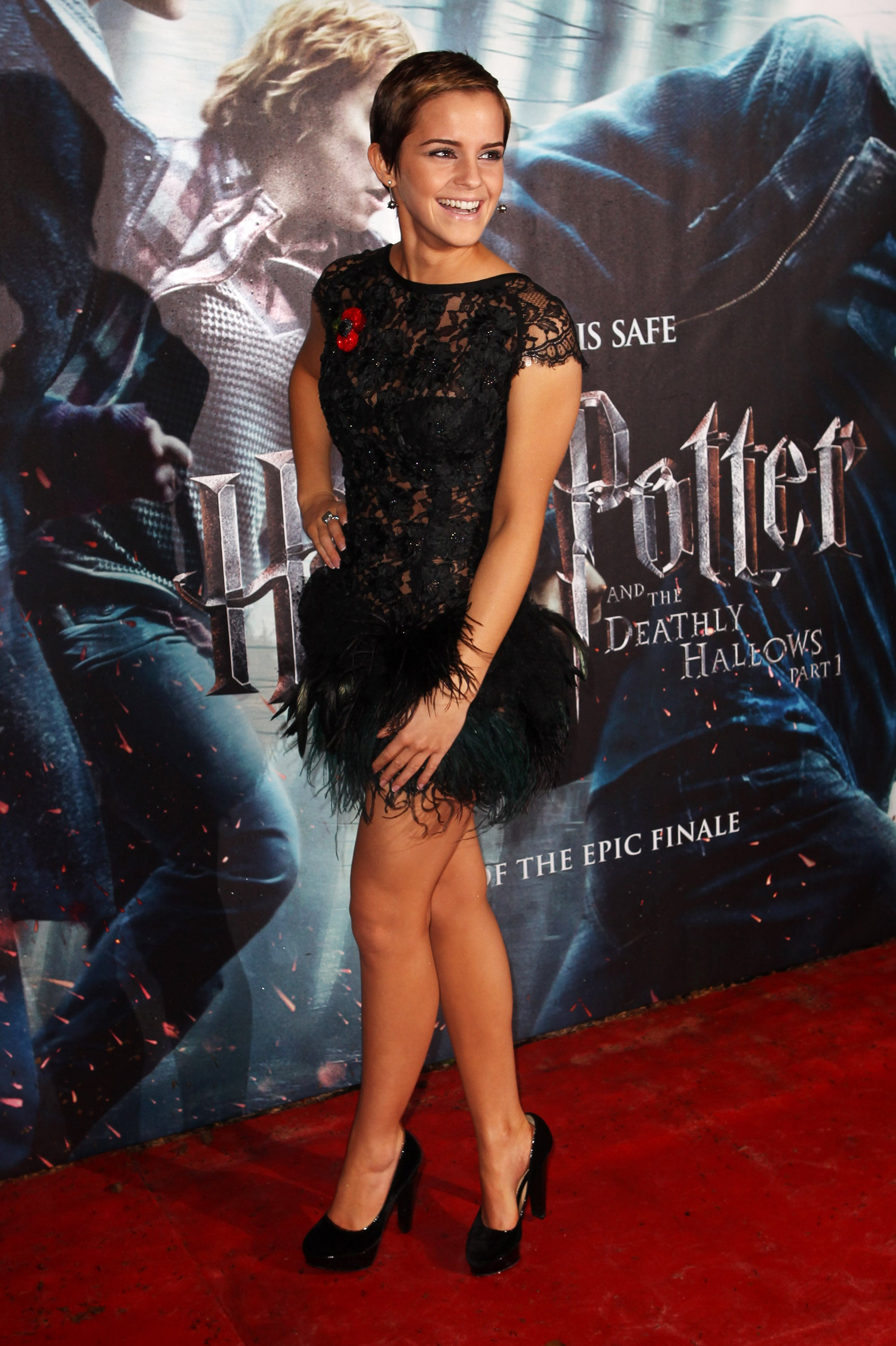 Emma Watson Harry Potter And The Deathly Hallows Part 2 Premiere Dress Emma Watson, Ru...