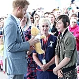 Prince Harry Visits Oxford Children's Hospital May 2019