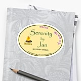 Serenity by Jan Sticker
