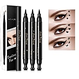 Double-Headed Liquid Eyeliner Pen Stamp