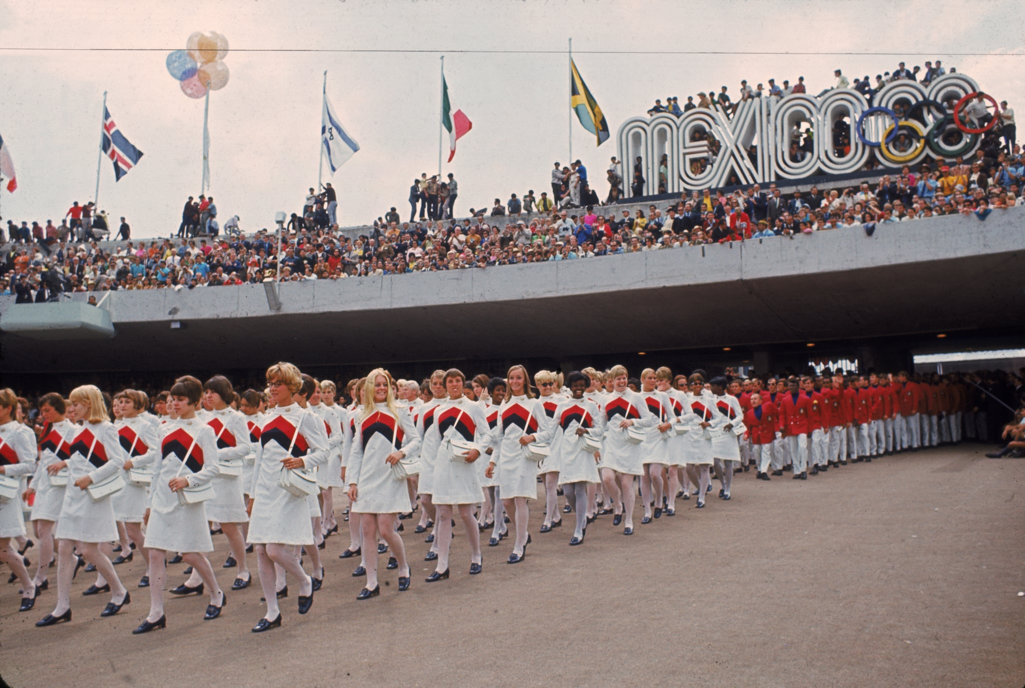 Team USA at the 1968 Olympics