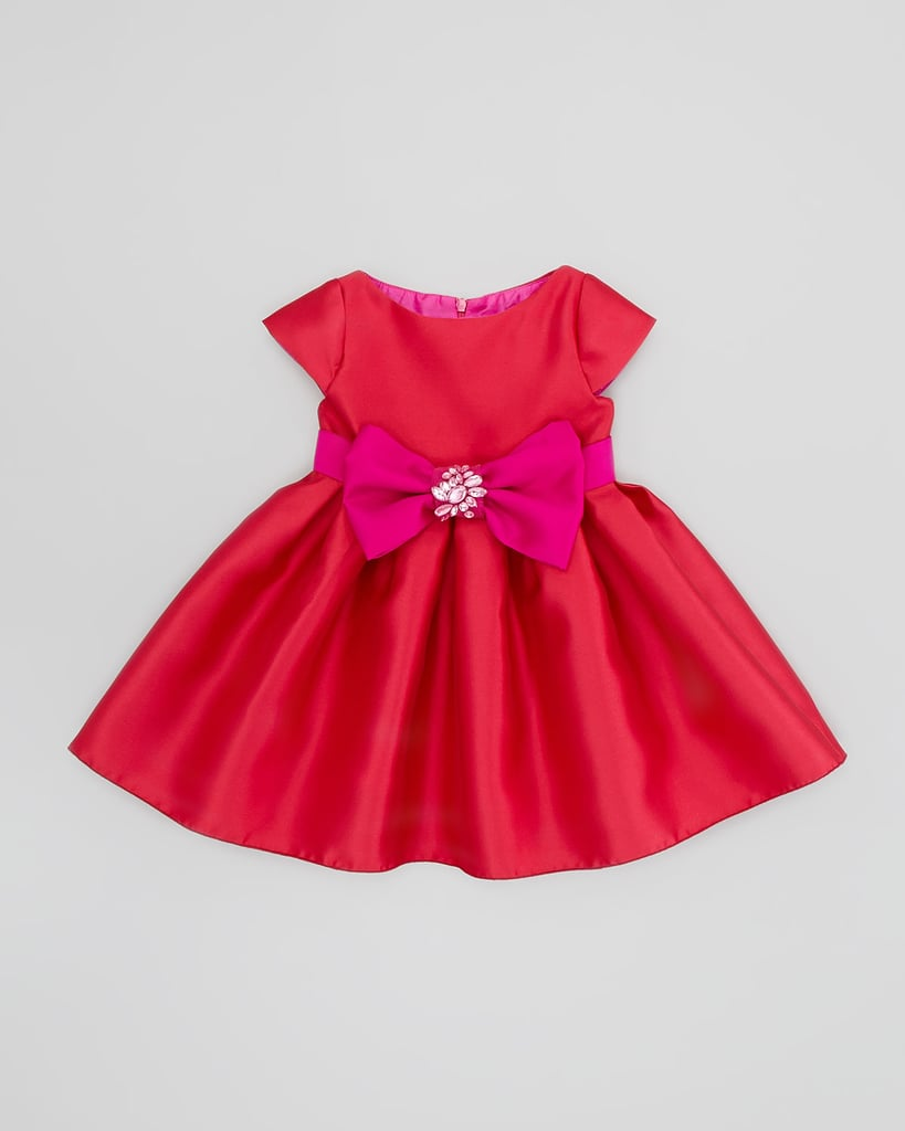 Zoe Embellished Bow Dress