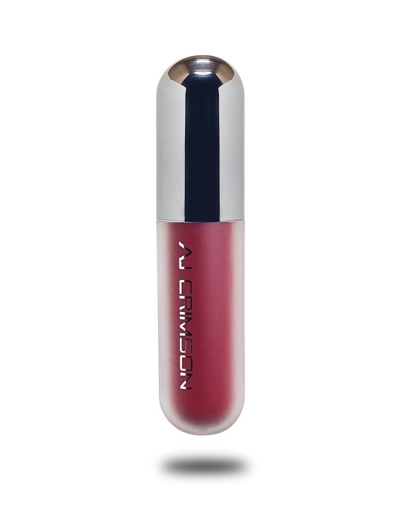 AJ Crimson Beauty S+M Sultry and Matte, Ruby Who? Matte Liquid Lipstick