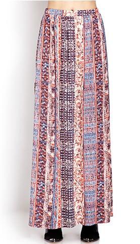 Forever 21 Slit Maxi Skirt