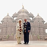 "Prince Charles and Camilla, Duchess of Cornwall The royal couple packed a lot into their 2013 visit, taking in the holy city of Rishikesh in the foothills of the Himalayas, the Swaminarayan Akshardham Hindu temple in New Delhi, a mobile creche in Mumbai, Paradesi Synagogue in Kerala, and ""Elephant Corridor"" in Nilgiri, which is home to the largest number of Indian elephants in the world. King Edward VIII Back when he was Prince of Wales, the fated future King Edward undertook a mammoth tour which lasted several years, including four months in India through 1921 and 1922. These were the days when royal tours were about processing around, attending parties and receptions, polo races and pageants. The role call of stops included Bombay (Mumbai), Baroda, Udaipur, Jodphur, Calcutta, Rangoon, Mandalay, Madras, Hyderabad, Agra, Delhi, Lahore, Peshwar, and Karachi. The tour was so epic that a book called The Prince of Wales Eastern Book was written about it by Sir Percival Phillips."