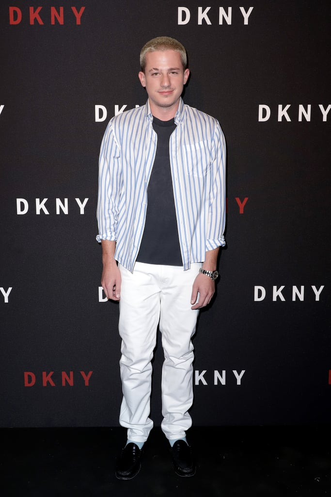Charlie Puth at the DKNY Party During New York Fashion Week