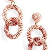 BP. Beaded Circle Drop Earrings