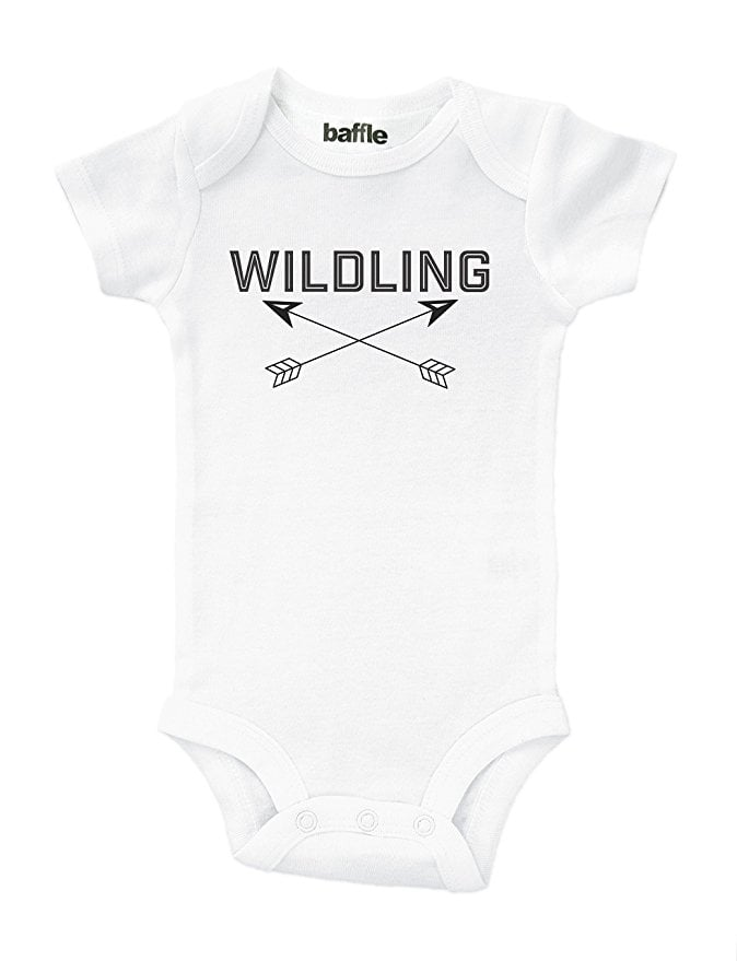 "Baffle ""Wildling"" Game of Thrones Baby Outfit"
